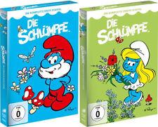 8 DVDs *  DIE SCHLÜMPFE - STAFFEL 1 + 2 # NEU OVP <