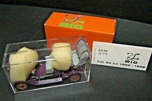 Modellino FIAT 60 CV SCOPERTA 1905 RIO N.24 SCALA 1:43 CON SCATOLA Made in Italy