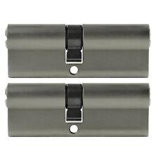 2x Profil Zylinder 85mm 40/45 Not + Gefahr 10 Schlüssel gleichschließend Schloss