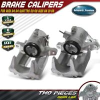 2x Brake Calipers w/o Bracket for Audi A4 A4 Quattro 2000-2006 RearLeft & Right