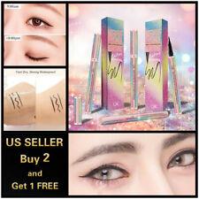 Crystal Unicorn Waterproof Black Liquid Eyeliner Eye Liner Pencil Long Lasting