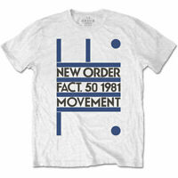 New Order 'Movement' T-Shirt *Official Merch* *Joy Division / Factory*