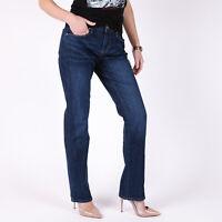 Levi's 505 Straight Blau Damen Jeans DE 36 / US W28 L34