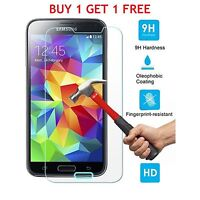 BUY 1 GET 1 FREE  Tempered Glass Screen Protector Samsung Galaxy S5 NEO/G930F