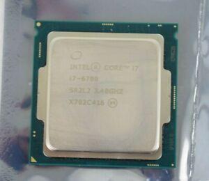 Intel Core i7 6th Gen i7-6700 SR2L2 3.4GHz CPU Desktop Quad Core Processor 1151
