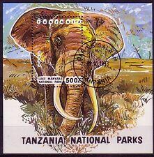 Tansania Block aus aller Welt gestempelt ( intern : 294 )