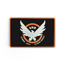 10*6.5CM Tom Clancy's The Division Agent SHD logo PVC Hook Loop patch badge