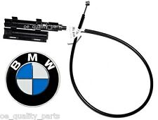 OE Genuine BMW 5 E39 Engine Cover Hood Pull Release Mechanism Cable Wire Lid