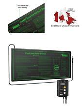 iPower GLHTMTCTRLHTMTS Warm Hydroponic Seedling Heat Mat, White S, 10'' x 20.5''