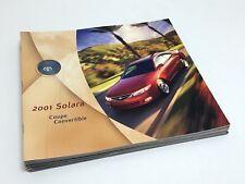 2001 Toyota Solara Coupe Convertible Brochure