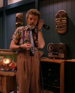 TWIN PEAKS DR JACOBY TIE COSTUME