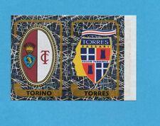 PANINI CALCIATORI 2003-04- Figurina n.734- TORINO+TORRES -SCUDETTO-NEW NO PUNTO