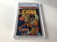 MARVEL CHILLERS 3 CBCS 9.6 WHITE PAGES ORIGIN TIGRA MARVEL COMICS LIKE CGC
