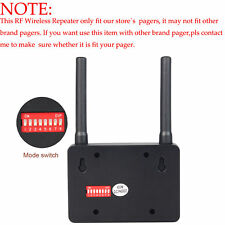 Wireless Wifi Repeater Signal Extender Booster Learning Code for 433MHz