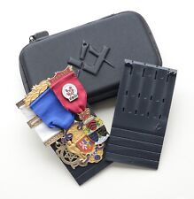 More details for masonic jewel holder with masonic zip case by 94nine