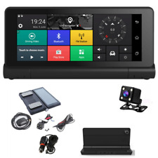 "7"" Wifi Android 4.4 HD 1080P Car DVR GPS Dual Cameras Dash Cam Video Recorder"