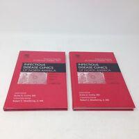 2 vol set History (pre-CORONA PANDEMIC) of INFECTIOUS DISEASES / Virus 2004