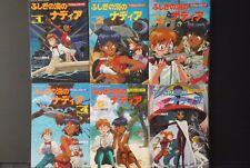 JAPAN Nadia: The Secret of Blue Water Film Comic (LOT) vol.1~6 Complete Set
