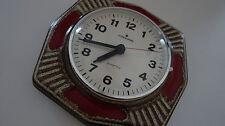 Junghans Keramik Uhr Küchenuhr Quartz Space Age ceramic kitchen clock 70s