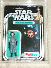 Vintage Star Wars 1978 PALITOY AFA 80 DEATH SQUAD COMMANDER ANH 12 BACK-B MOC CL