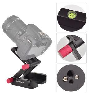 Z Flex Tilt Head Quick Release Plate Folding Bracket Camera Camcorder Stabilizer