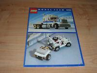LEGO Highway Rig Model Team 5580 instructions en bon état