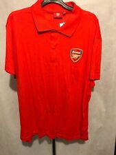 Arsenal F.C. Red Polo Shirt Size XL G497 BNWT