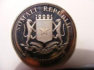 Somalia 2004 C/N 25 Shillings, Pope John Paul II, P/L, KM#156, Pope mobile