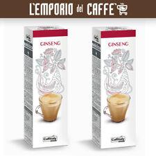 Caffè Caffitaly Ecaffè Ginseng 100 Capsule Cialde - 100% Originale