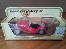 Matchbox Yesteryear Y-8 1945 MG-TC In Box