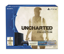 PlayStation 4 Slim 500GB Uncharted 4 Bundle Console Sony Black Edition System