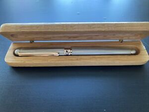 Retro 51 Pen, MRP-212, White Nickel Rollerball with rose gold accents, W Box