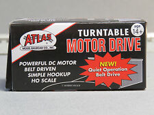 ATLAS HO TURNTABLE MOTOR DRIVE track rail train turn table roundhouse atl 304