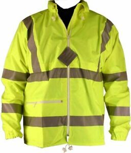 "3M BrandHi Hi Vis Jacket CE ISO 9001 High Visibility  XL 44-46"" ex Military NEW"