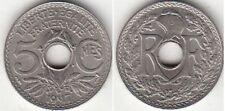 Monnaie Française 5 centimes Lindauer 1917