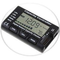 Rc Lcd Lipo Battery Capacity Voltage Meter For Turnigy Nanotech Zippy Gens Ace