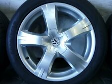 ALUFELGEN ORIGINAL VW T5 EDITION 25 SOMMERREIFEN 255/45 R18 103Y DOT17 6mm