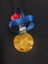 2020 Tokyo Japan METAL GOLD MEDAL OLYMPICS WITH RIBBON RARE USA SELELR