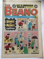 DC Thompson THE BEANO Comic. Issue 1852 January 14th 1978 **FREE UK POSTAGE**