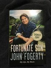 John Fogerty signed book Fortunate Son Signed Book PSA/DNA Creedance