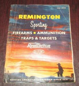 Vintage 1958 Remington Sporting Firearms and Ammunition Fall Catalog