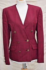 womens gorgeous AQUASCUTUM LONDON wool tweed jacket blazers formal party size 12