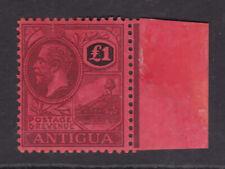 Antigua. SG 61, £1 purple & black/red. Fine mounted mint.