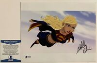 Molly Quinn Autographed Supergirl 8x10 Photo Signed Superman Unbound Beckett COA