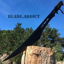 """27"""" Full Tang Tactical Combat Ninja Sword Machete Katana Black + Nylon Sheath"""