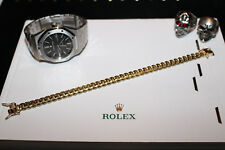 10mm Cuban Miami Link Chain Bracelet 14k Gold Electroplated 8X HOT LINE BLING