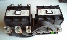 ABB REVERSING CONTACTOR EH250 X 2, 600V, 75-250HP, 110V coil