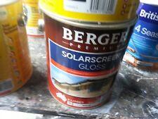 BERGER BY DULUX 2 LITRE SOLASREEN EXTERIOR GLOSS WHITE COLOUR PAINT