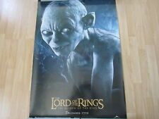 Lotr Return Of The King Poster Gollum Original Double Sided 40 X 27 A11807