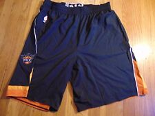 ADIDAS NBA AUTHENTIC PHOENIX SUNS BLACK LIGHT WEIGHT GAME SHORTS SIZE 2XL+2""